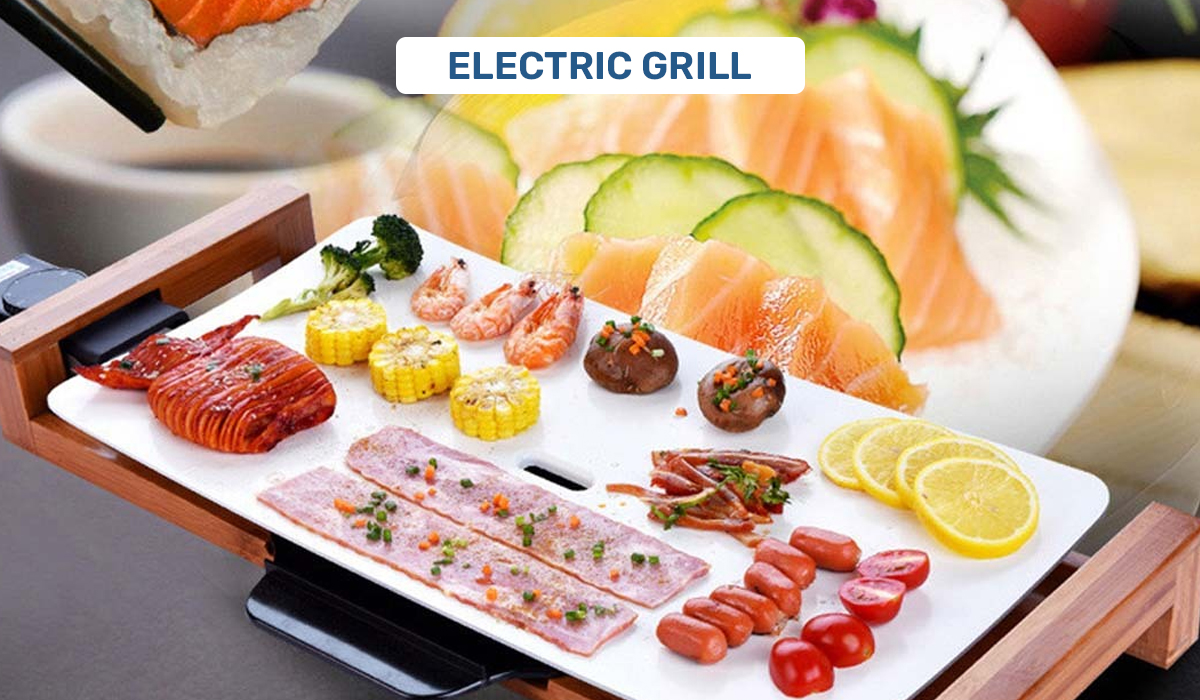 Electric Grill - Kitchen Appliances